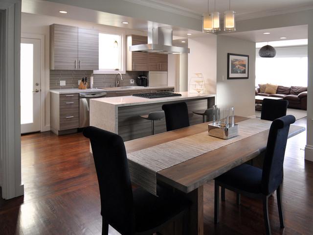 Outer Richmond Residence modern-kitchen