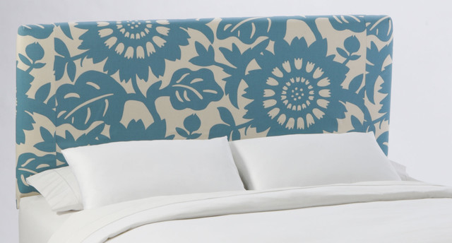 Slipcover Headboard in Gerber Surf eclectic headboards