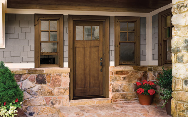 contemporary front doors by HomeStory