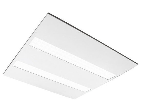 MaxLite - MaxLite MLMT22D3550 Micro-T Lay-In LED Panel, 5000K - MaxLite's Micro-T Lay-In LED Panel is the next evolution of LED troffer lighting that departs from standard designs by using single or multiple strips, comprised of LM-80 tested LED chips individually enclosed in MicroCell louvers. The Micro-T panel is designed for remodel or new construction installations in gridded lay-ins and troffers in offices, retail, public spaces and businesses. This LED panel is fully dimmable and compatible with building controls, motion sensors, timers, and daylight harvesting systems.