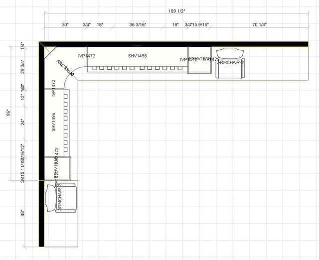 Closet Floor Plans Floor Plan Other Metro By Kitchen