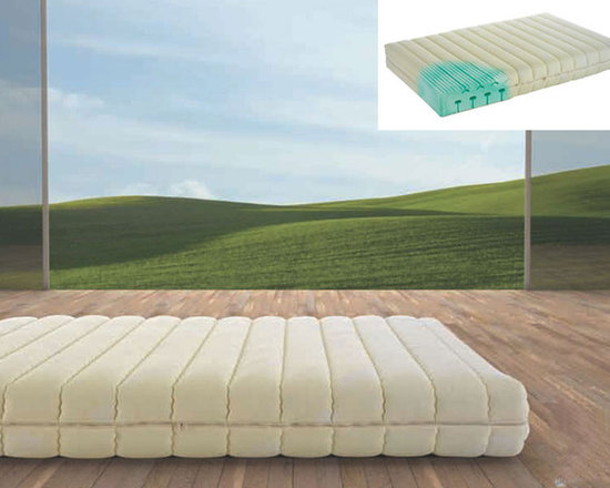 Soygreen Mattress by Magniflex - Correct orthopedic position of the vertebral column.