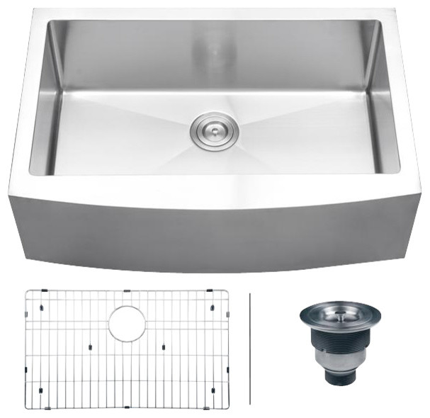 Drop In Apron Front Kitchen Sink : All Products / Kitchen / Kitchen Sinks and Faucets / Kitchen Sinks