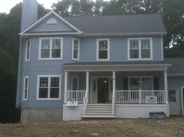 Lexington MA 2 New Construction traditional-exterior