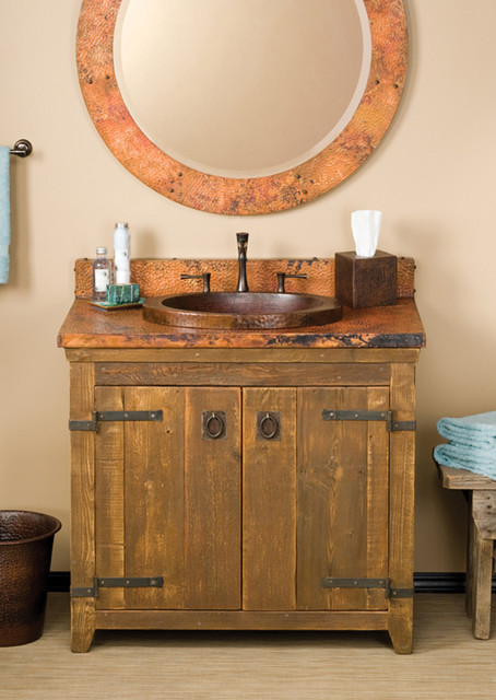 trails 36 quot americana vanity in chestnut farmhouse