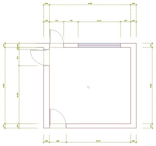 Small Square Kitchen Layout Help