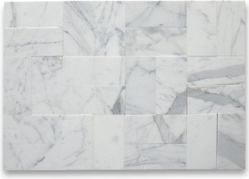 Calacatta Gold 3 X 6 Subway Tile Honed Marble From Italy