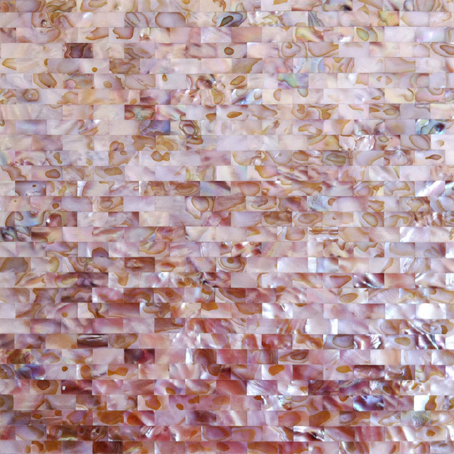 Colorful MOP tiles Shell Tiles made of mother of pearls contemporary-tile