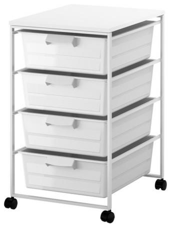 Antonius frame drawer and desk top contemporary - Ikea desk drawer organizer ...