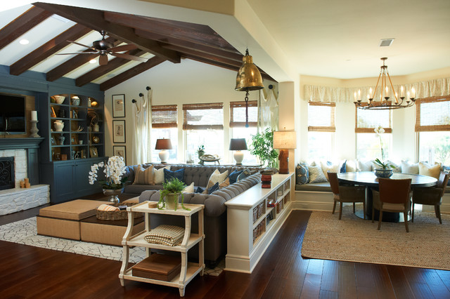 Ranch meets Coast eclectic-family-room