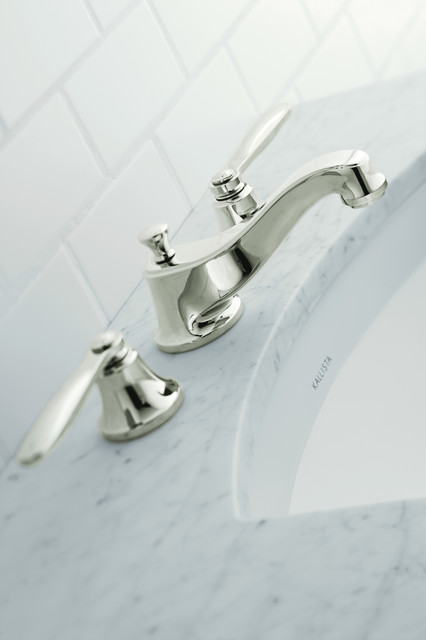 Tuxedo collection By Barbara Barry for KALLISTA modern-bathroom-faucets-and-showerheads