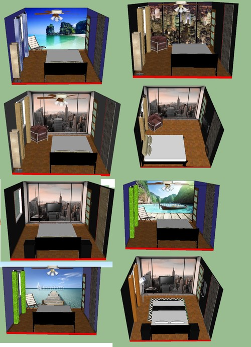 Small bedroom layout 11x12 1 window 1 entrance door 1 for 8 x 12 room design