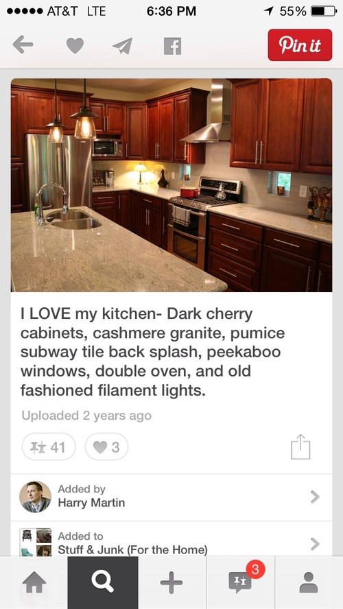 Is natural cherry a bad idea fot kitchen cabinets?