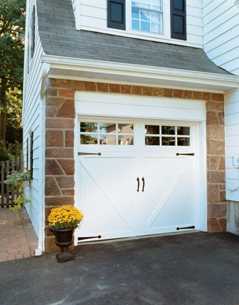 Jenson contemporary garage doors