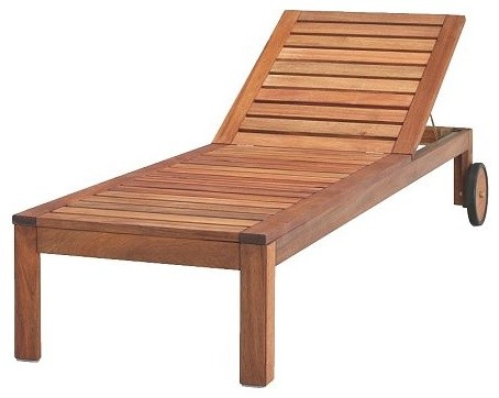 Wooden Pool Lounge Chair Plans