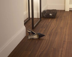 Wenge Bourbon, Cushion Step vinyl sheet flooring by Armstrong traditional vinyl flooring