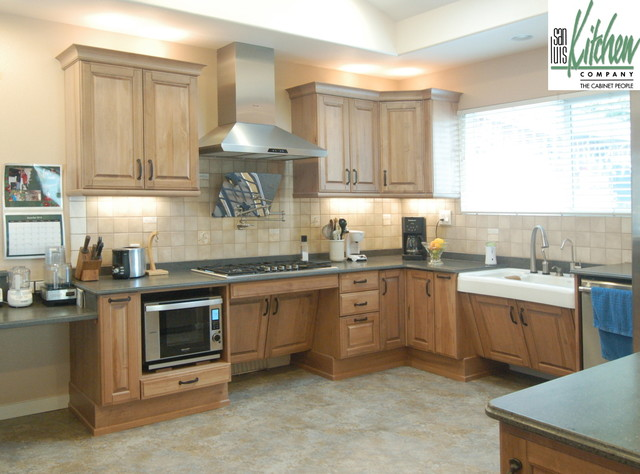 San Luis Kitchen Co Wheelchair Accessible Traditional Kitchen San Luis Obispo By San
