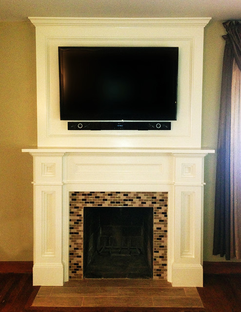 custom fireplace surround traditional dc metro by fa