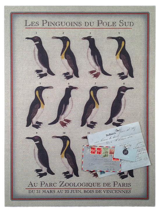 Floating Circus Zoo Penguin Pin Board