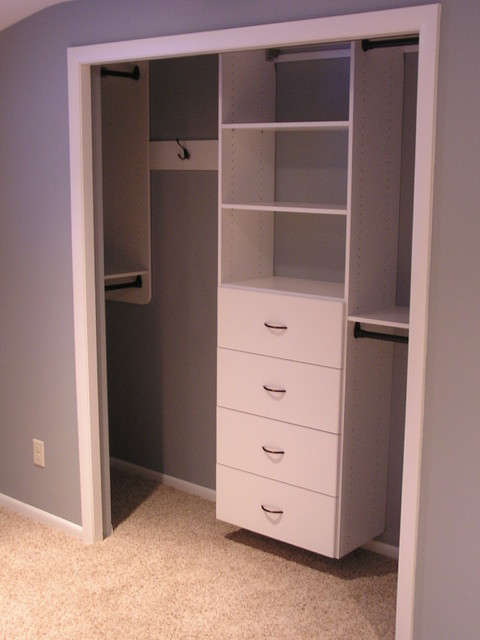 Guest Room Reach In Closet Traditional Closet Other Metro By