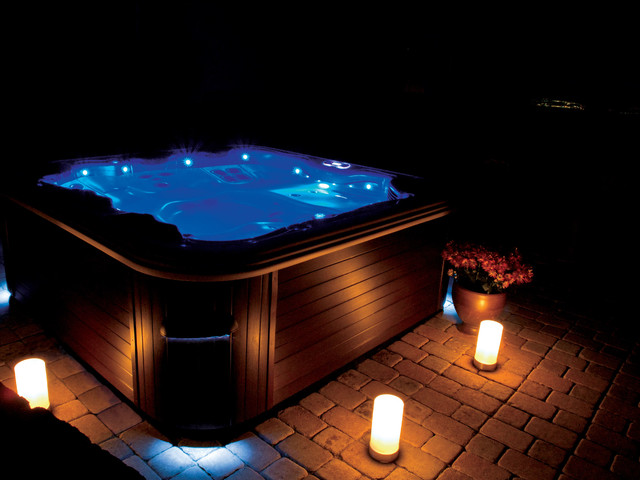 Hot tubs and Spas modern