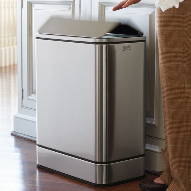 Simplehuman Yellowfly Sensor Trash Can Traditional