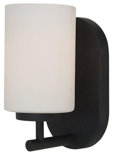 Sea Gull Lighting-41160BLE-839-Oslo - One Light Wall/Bath contemporary-bathroom-lighting-and-vanity-lighting