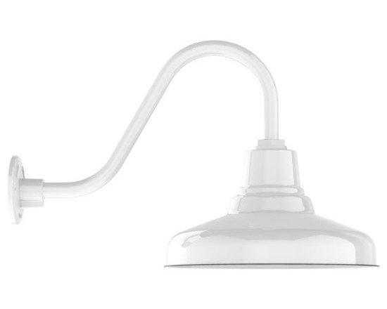 Goodrich® Union Porcelain Gooseneck Light -