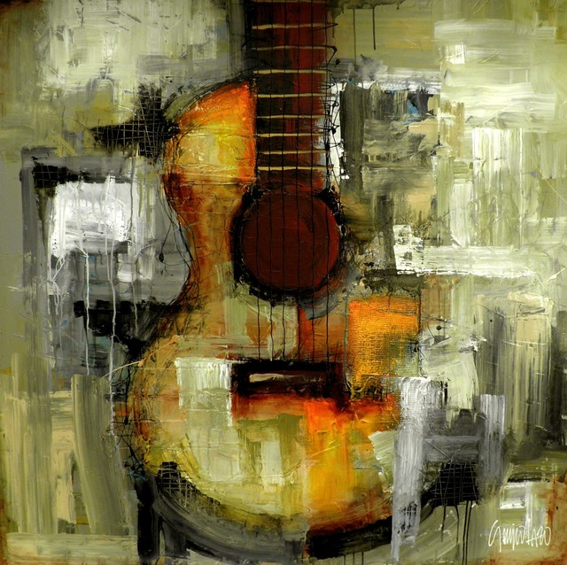 Any Other Time, Original, Mixed Media contemporary-paintings
