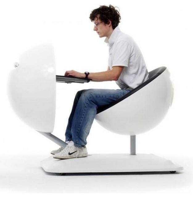 Mobile Work Pod Workstation Desk - Office Furniture - Stardust modern ...