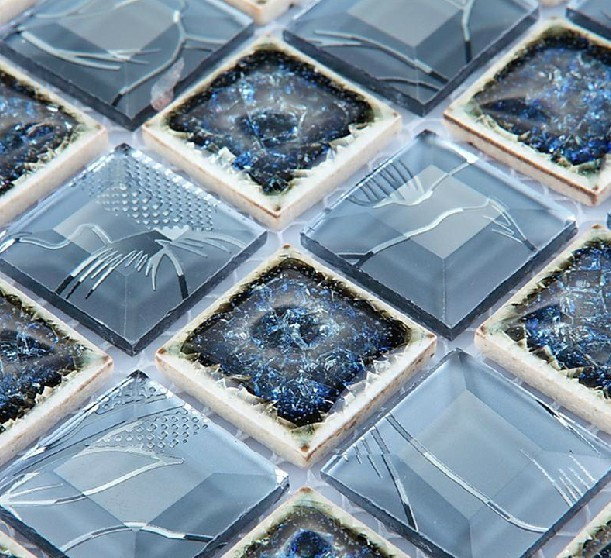 Mirror Glass Mosaic Tile Glass Mosaic Mirror Tiles Diamond