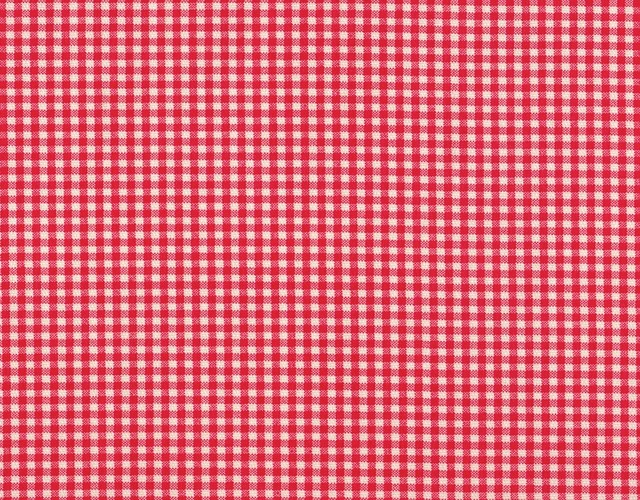 Bradford Valance Gingham and Ticking Stripe Cherry Red traditional-valances