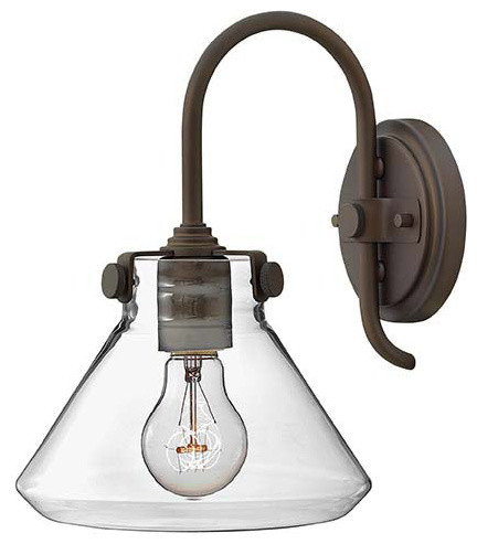 Hinkley Lighting 3176OZ Congress Oil Rubbed Bronze Wall Sconce transitional-wall-sconces