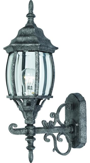 Antique Silver Outdoor Patio Porch Exterior Light Fixture Traditional O