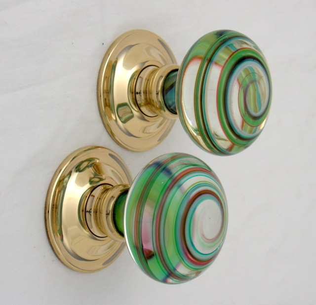 Artisan glass knobs modern-cabinet-and-drawer-knobs