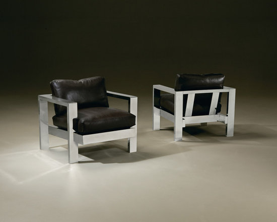 Thayer Coggin - Heavy Metal Chair from Thayer Coggin - Thayer Coggin Inc.