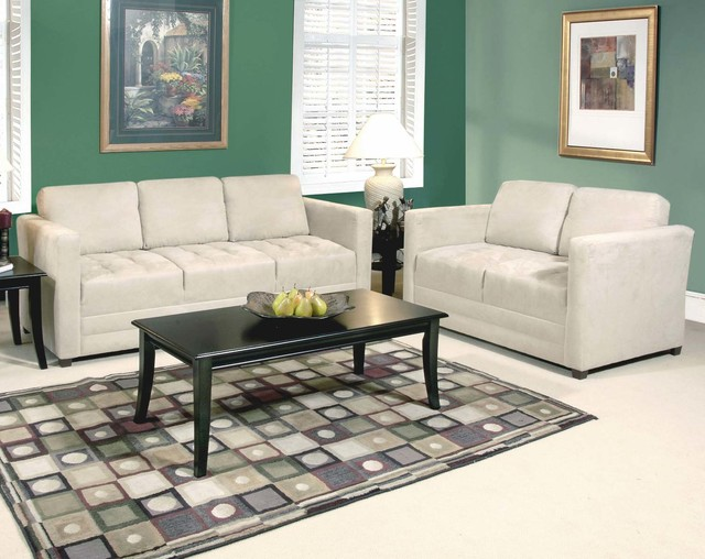Sienna Stone Sofa And Loveseat Traditional Living Room Columbus By Am