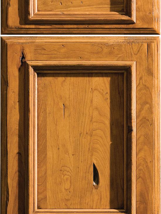 "Dura Supreme Cabinetry - Dura Supreme Cabinetry St. Augustine Cabinet Door Style - Dura Supreme Cabinetry ""St. Augustine"" cabinet door style in Rustic Cherry shown with Dura Supreme's ""Heavy Heirloom L"" finish."