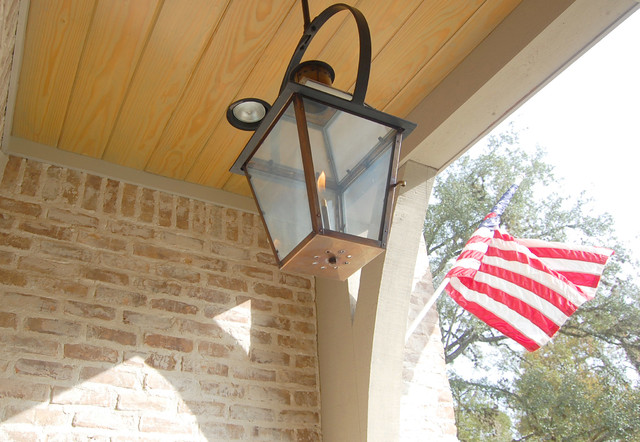 Garden oaks french country for French country outdoor lighting