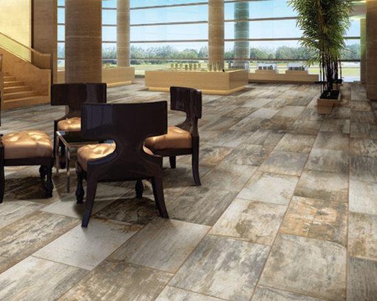 Canyon Timber Mountain Timber Wood-Look Porcelain Tiles -