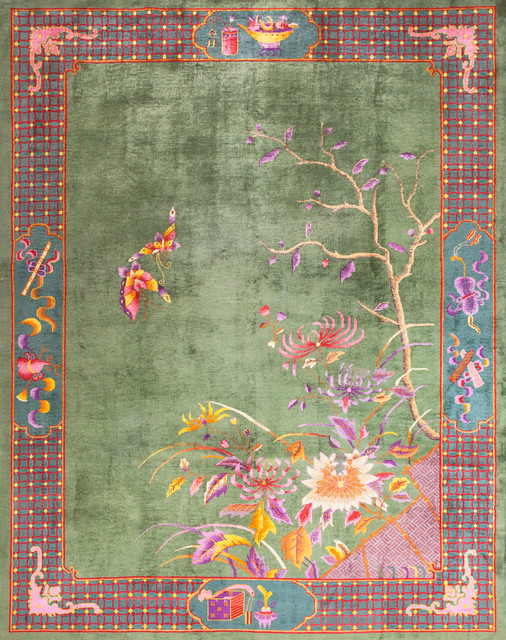 Chinese Art Deco Carpets Eclectic Rugs New York By