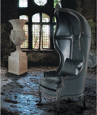 Glamour Boy Throne eclectic-accent-chairs