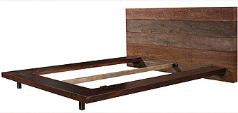Rustic & Reclaimed modern-beds