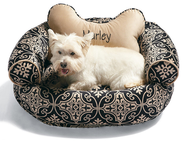 Valencia Fabric Comfy Couch Pet Bed - Frontgate Dog Bed ...