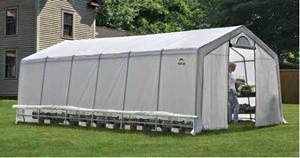 Heavy Duty Greenhouse, 12 x 24 x 8 ft./3,7 x 7,3 x 2,4 m modern-greenhouses