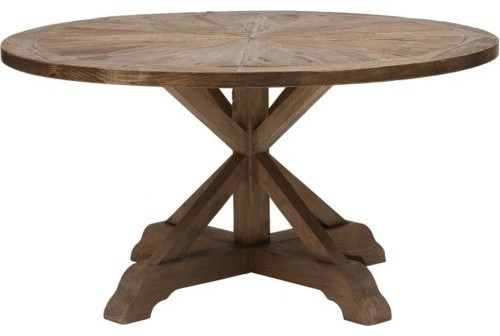 "Opio Round Dining Table 59"" eclectic-dining-tables"