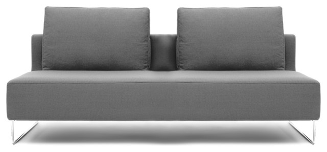 "Canyon 69"" Armless Sofa Modern Sofas los angeles"