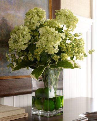 """John-Richard Collection """"Classic Greens"""" Faux Floral traditional-artwork"""