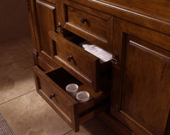 "60"" Peruga Double Sink Vanity - Harvest traditional-bathroom-vanities-and-sink-consoles"