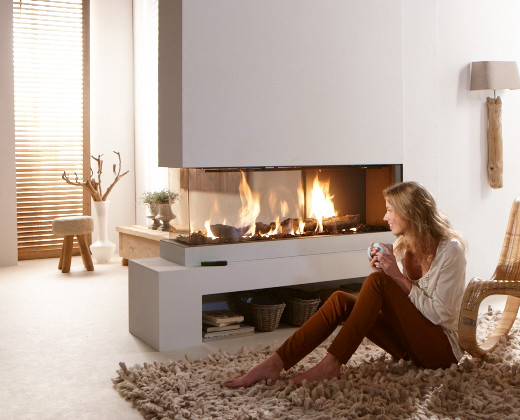 Trim Multi Sided Gas Fireplaces